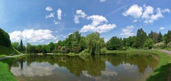 Park in de stad Royalty-vrije Stock Foto