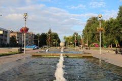 Park in de stad Royalty-vrije Stock Afbeeldingen