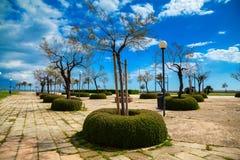 Park del Mar in spring Stock Photos