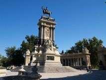 Park del Retiro Royalty Free Stock Photography