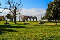Park der Aquädukte lizenzfreies stockbild