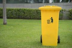 Park der Behälter öffentlich Lizenzfreies Stockbild