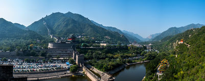 Park der Chinesischen Mauer Lizenzfreie Stockfotografie