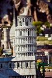 Park der Miniatur in Rimini, Italien Stockbilder