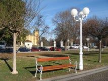 Park in der NaÅ-¡ Eisstadt Lizenzfreies Stockfoto