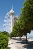 Park der Nationen in Lissabon Lizenzfreies Stockbild
