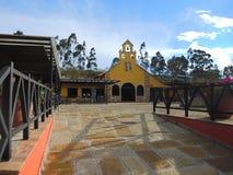 Park der Schlucht von Chicamocha. Stockfotografie