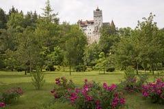 Park des Kleie-Schlosses Stockfotos