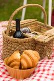 Park des Picknicks im Frühjahr Lizenzfreies Stockfoto