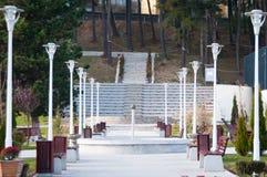 Park design Stock Image