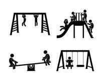 Park design, vector illustration. Royalty Free Stock Photo