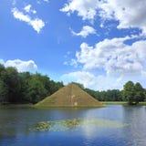 Park dichtbij Cottbus royalty-vrije stock afbeelding