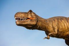 Park dinosaury zdjęcia royalty free