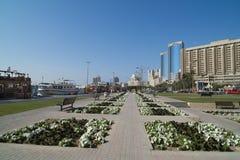 Park in Doubai Stock Afbeelding