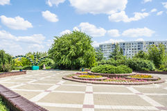Park `Druzhba` Friendship on the Boulevard Komarova in Rostov-on-don Royalty Free Stock Photo