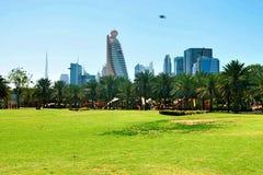 Park Dubai Uae lizenzfreie stockbilder