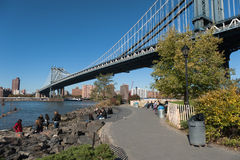 Park in dumbo area Stock Images