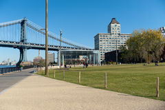 Park in dumbo area Royalty Free Stock Photos