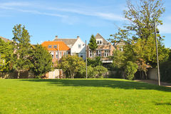 Park in the Dutch city of Dordrecht. Royalty Free Stock Photo