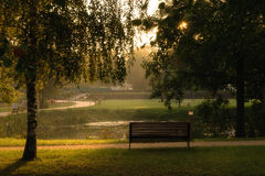 Park early morning Royalty Free Stock Image