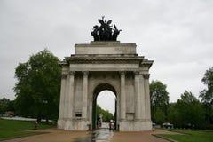 Park-Ecke, London Lizenzfreie Stockbilder