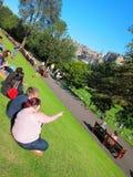 Park in edinburgh,scotland Royalty Free Stock Photo