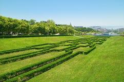 Park Eduardo-VII Stockfotografie