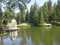 Park einer Villa Stockfotografie