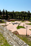 Park of Emir Mohamed I in Madrid Royalty Free Stock Image