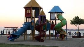 Park en Kinderen stock footage