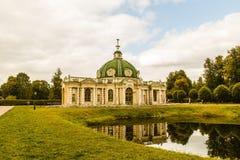 Park ensemble. Moscow, Park Museum, historical site stock images