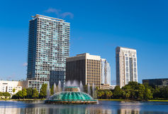 Park Eola in orlando Florida Stock Images