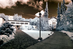 Park in Europe. Royalty Free Stock Images