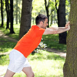 Park exercices Royalty Free Stock Images