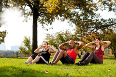 Park Exercise Royalty Free Stock Photos