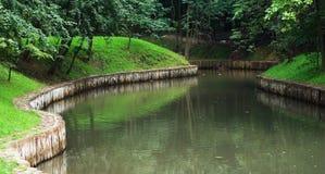 park för 2 lake Royaltyfri Fotografi