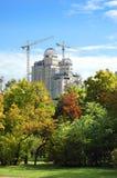 park för byggnadskonstruktion Royaltyfri Bild