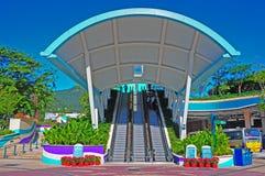 park för ingångsHong Kong hav royaltyfria foton