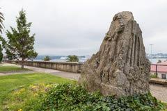 Park in Ferrol, Galicië, Spanje Stock Foto