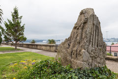Park in Ferrol, Galicia, Spain Stock Photo