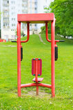 Park fitness machine Royalty Free Stock Images
