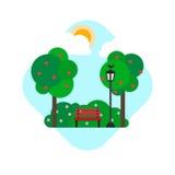 Park stock illustration