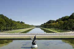 The Park Of Fontainebleau Royalty Free Stock Photo