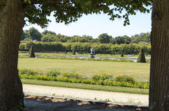 The Park Of Fontainebleau Royalty Free Stock Images