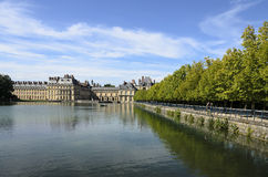 The Park Of Fontainebleau Stock Image