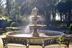 park fontanna wody Obraz Royalty Free