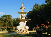 Park Fountain. Large Fountain in the park Royalty Free Stock Photography