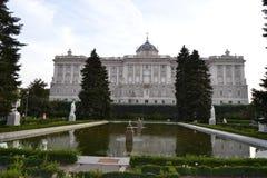 Park fountain Madrid Royalty Free Stock Photos