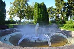 Park fountain Stock Photo