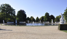 Park fountain from Sanssouci in Potsdam,Germany Stock Images